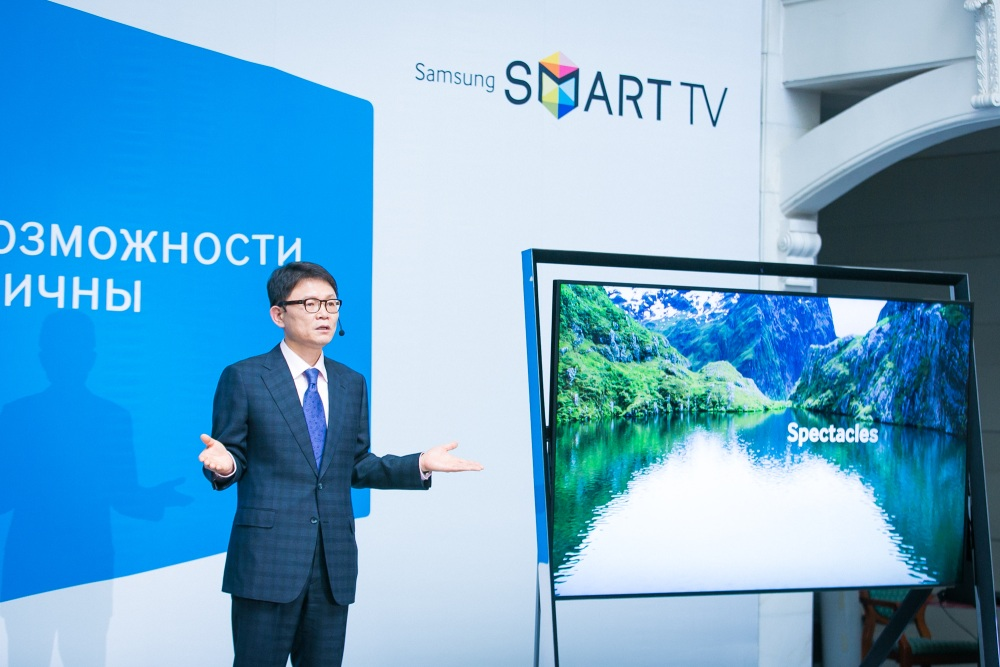 Новая линейка телевизоров Samsung Smart TV