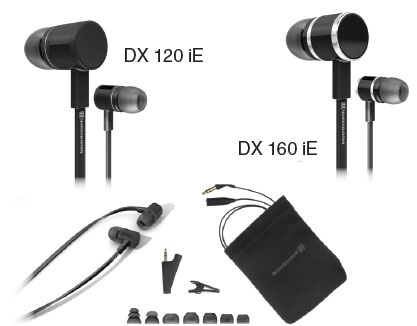 Наушники Beyerdynamic DX160 iE и DX120 iE