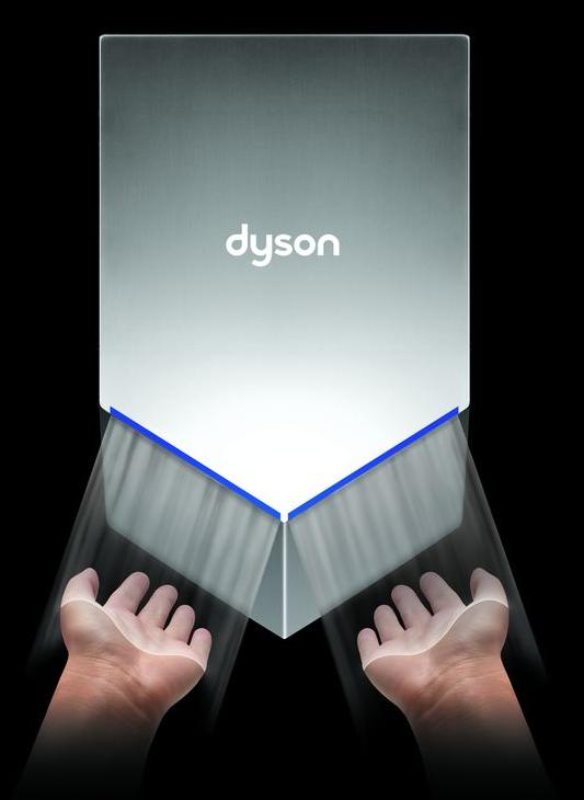сушилка для рук airblade v dyson ab12 eu snk